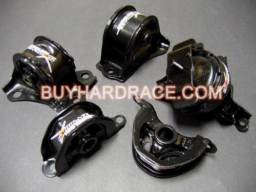 Hardrace Motor Mount Kit 96 00 Civic EK