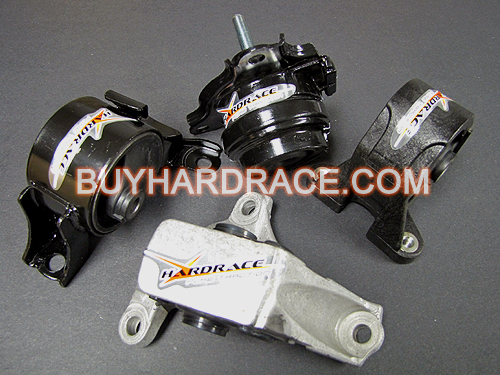 Hardrace Motor Mount Kit 02 06 Acura Rsx 02 05 Civic Si 6676: acura motor mounts