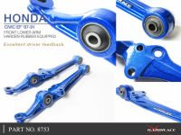 Hardrace Front Lower Arms (Harden Rubber) 88-91 CRX Civic EF